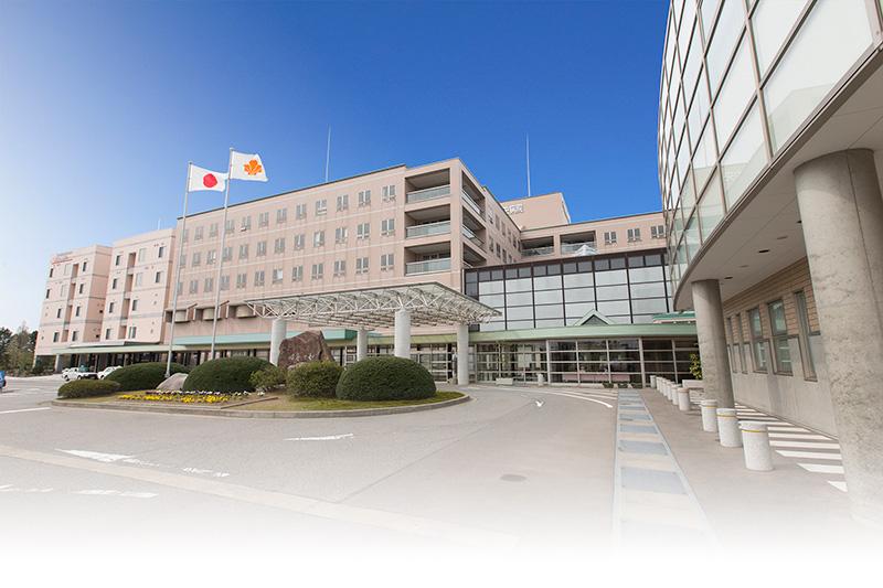 公立松任石川中央病院 外観