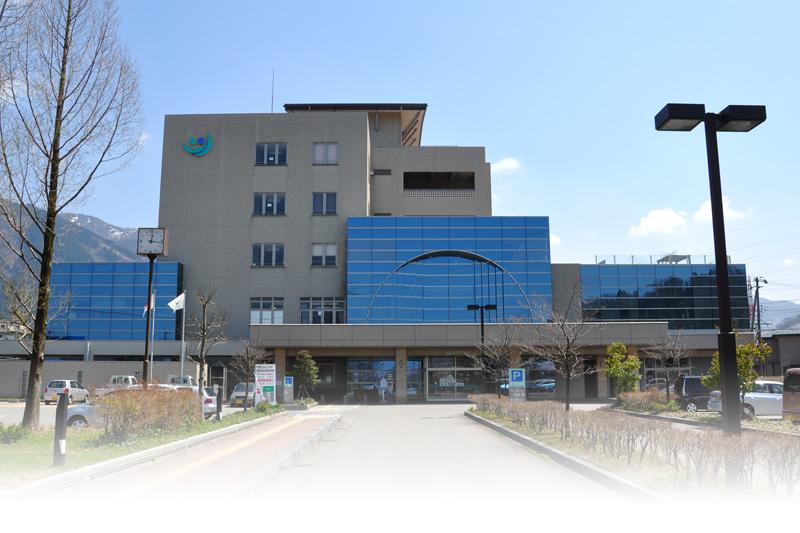 公立つるぎ病院 外観